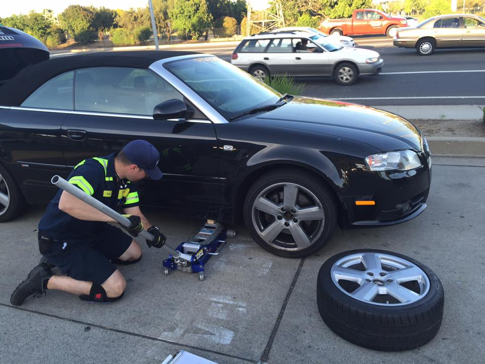 Flat Tire Change Services